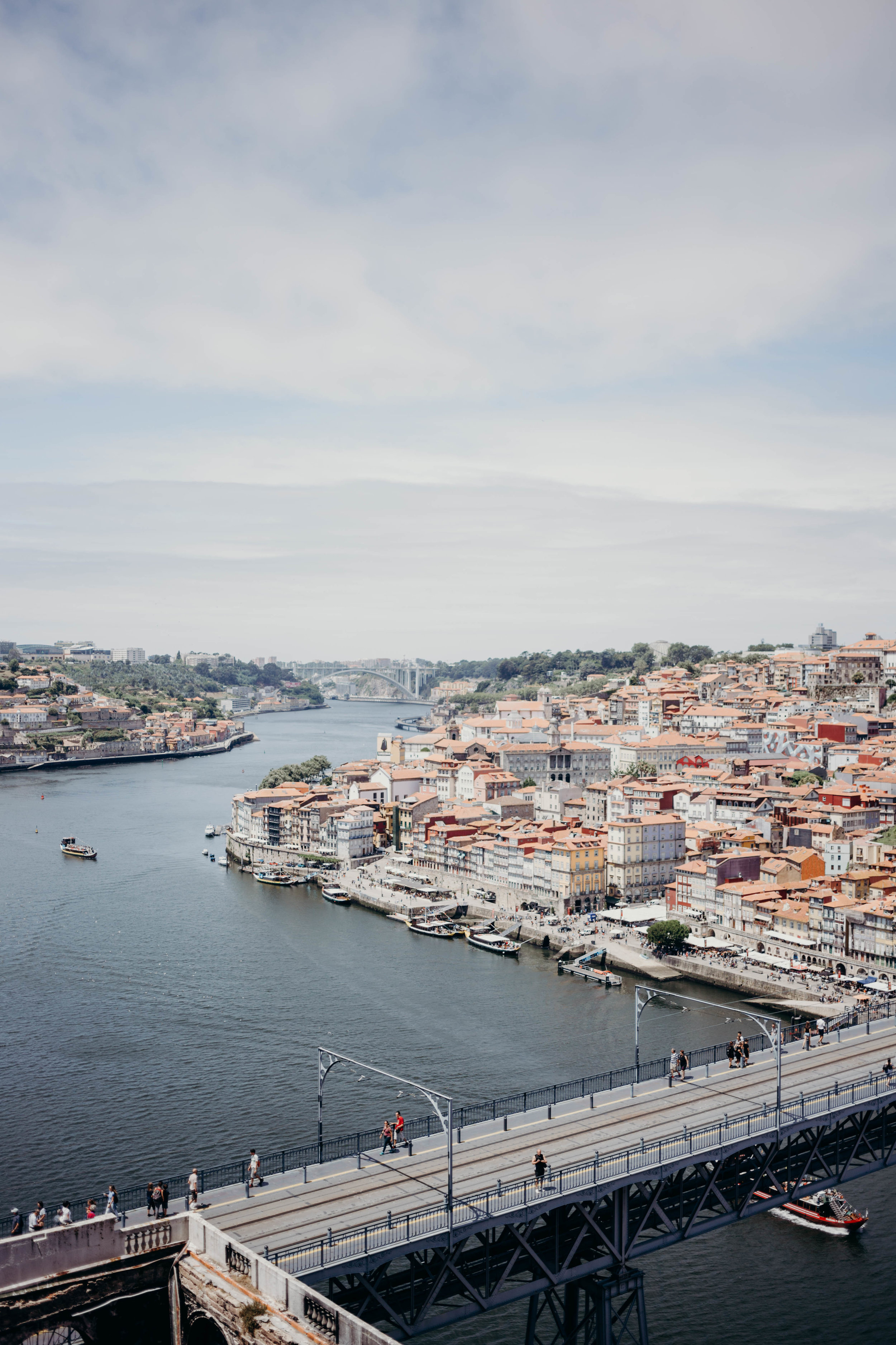 Our Portugal Travel Diary: Lisbon, Porto, and More | On the Street Where We Live (aretherelilactrees.com)  Ribeira-Rio Douro, Dom Luis I Bridge