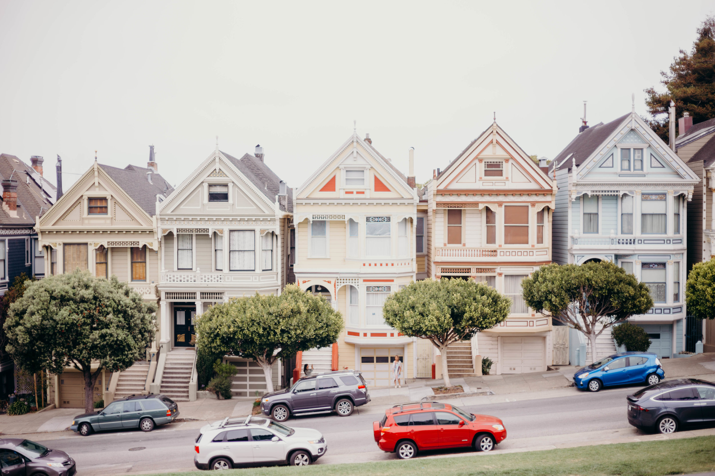 72 Hours in San Francisco | On the Street Where We Live (aretherelilactrees.com)  Painted Ladies, Alamo Square