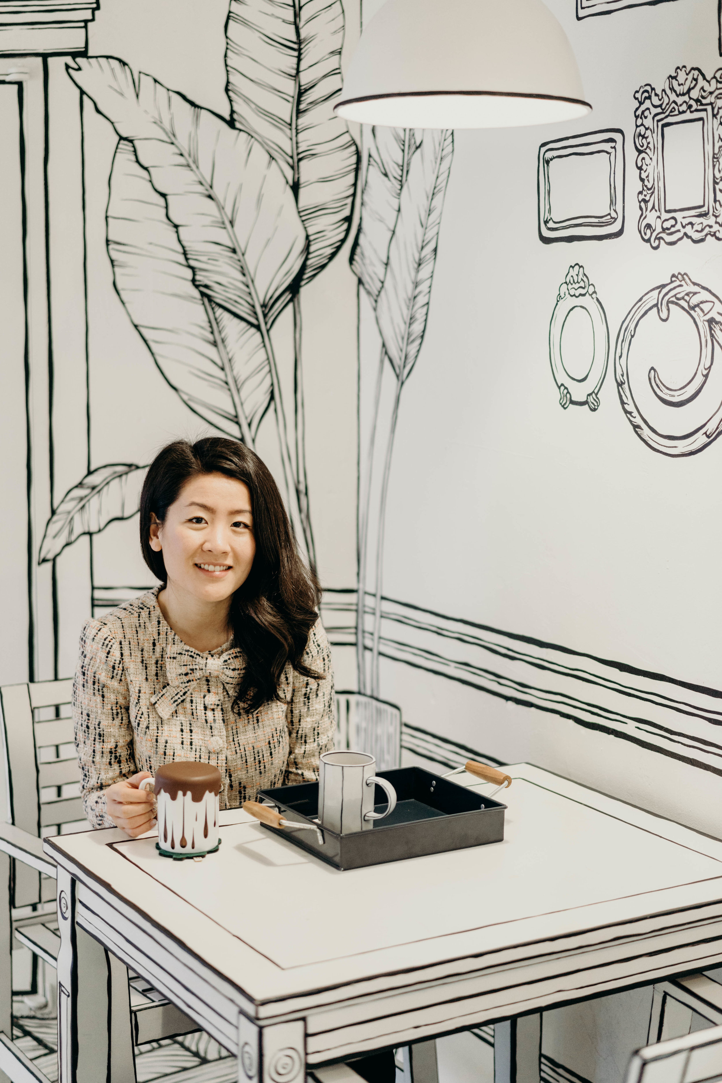 The Seoul Cartoon Cafe: Cafe Yeonnam-dong 223-14 | On the Street Where We Live ( aretherelilactrees.com )