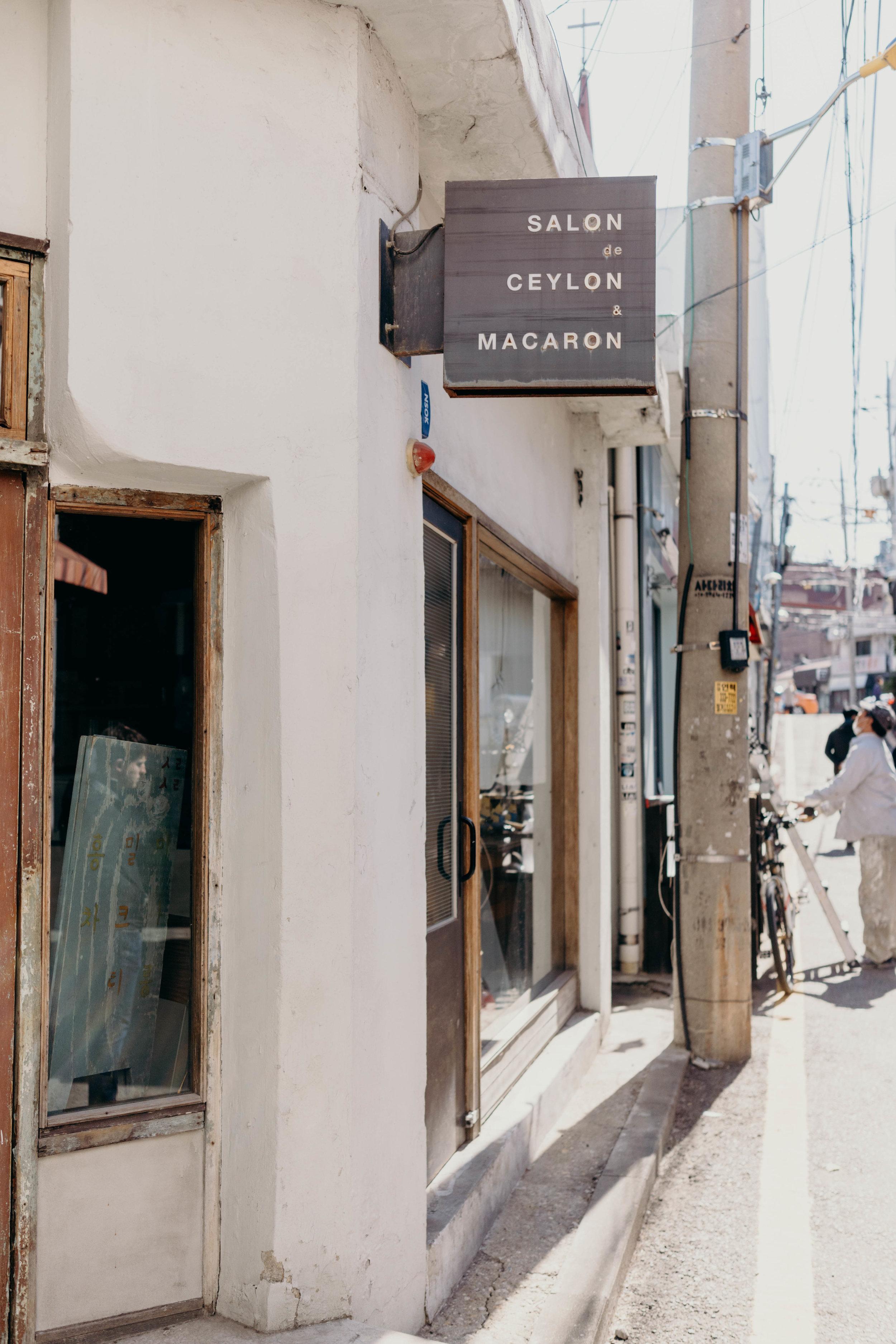 Off the Beaten Path: Yeonnam-dong | On the Street Where We Live ( aretherelilactrees.com )  Seoul, South Korea, Salon de Ceylon & Macaron