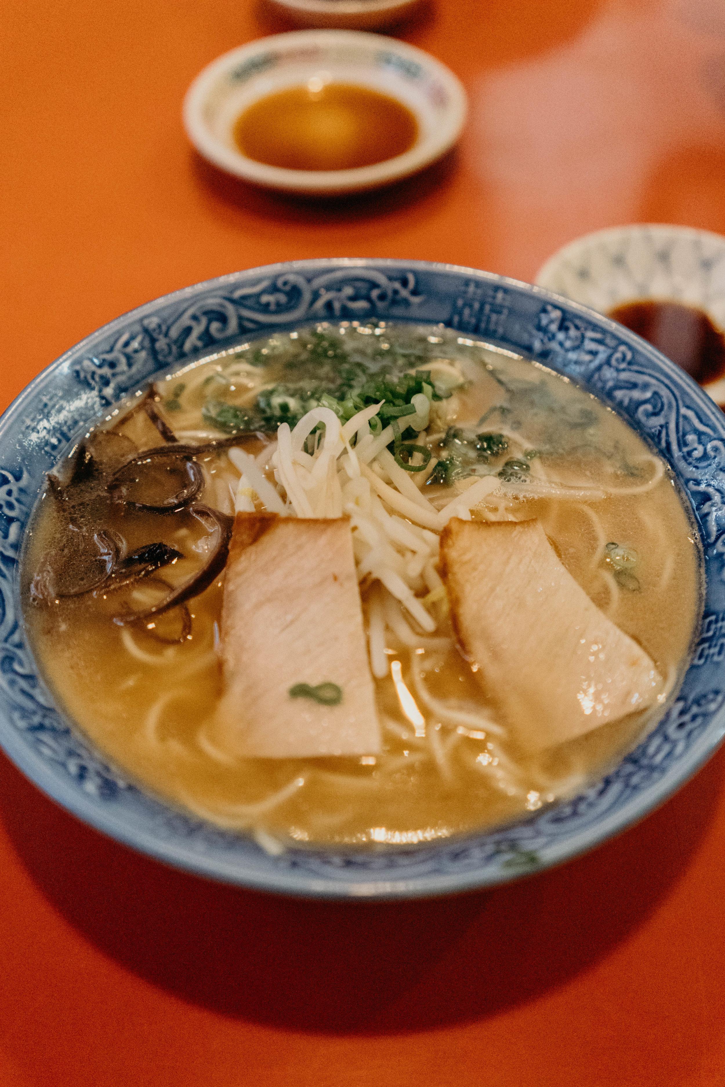 A Weekend in Kitakyushu, Japan | On the Street Where We Live ( aretherelilactrees.com )  Yomohei, ramen