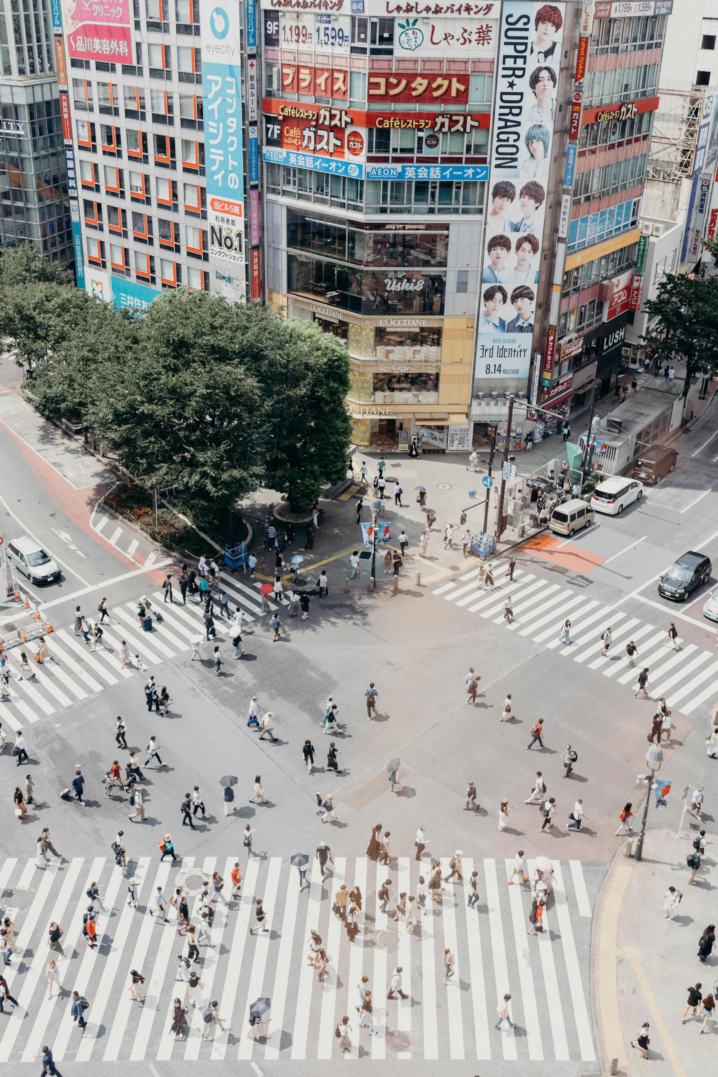 A Three-Day Girls' Trip to Tokyo | On the Street Where We Live ( aretherelilactrees.com )  Shibuya Crossing, Magnet by Shibuya109, Shibuya, Tokyo, Japan