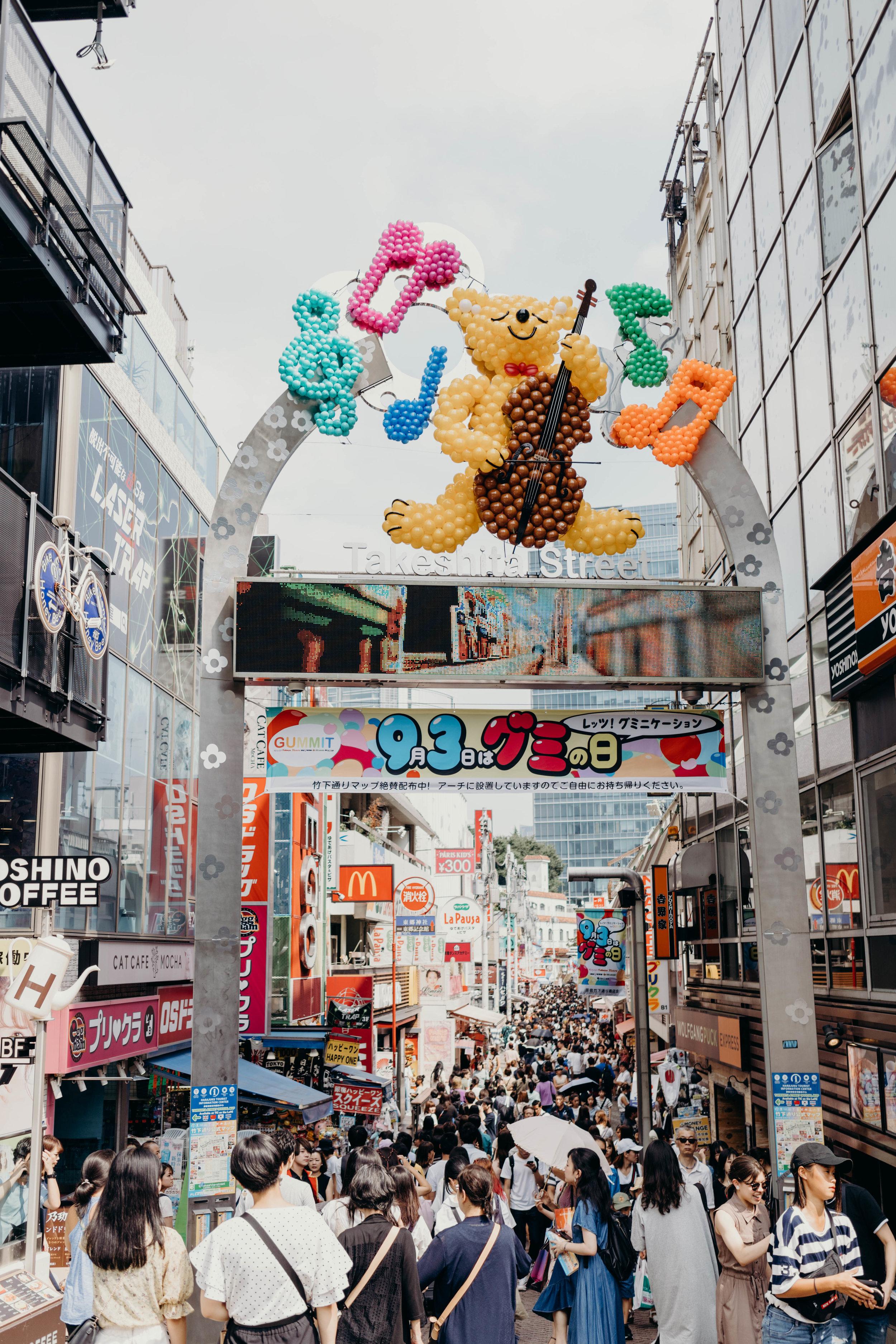 A Three-Day Girls' Trip to Tokyo | On the Street Where We Live ( aretherelilactrees.com )  Takeshita Street, Harajuku, Tokyo, Japan