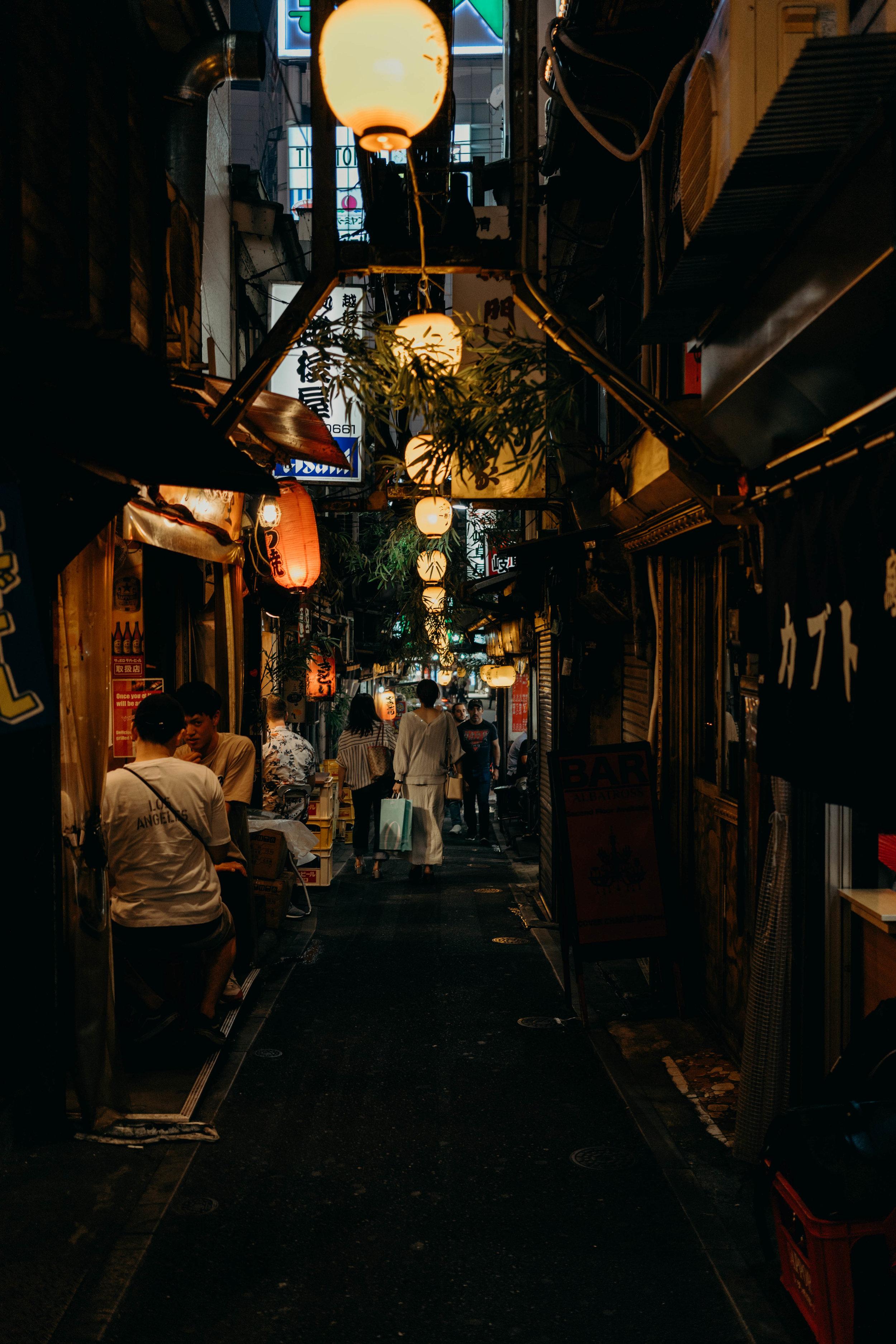 A Three-Day Girls' Trip to Tokyo | On the Street Where We Live ( aretherelilactrees.com )  Omoide Yokocho, Tokyo, Japan