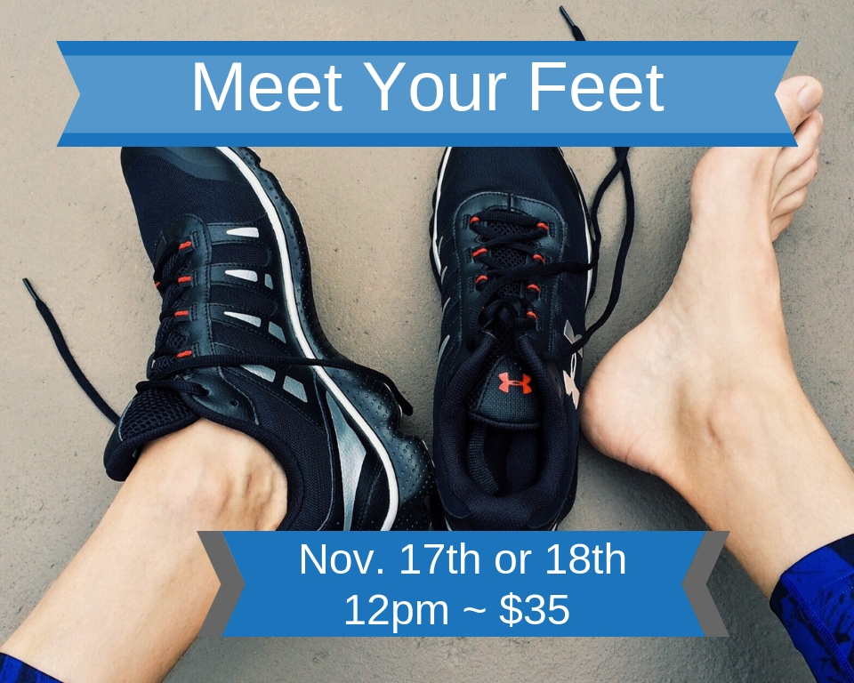 Join Sam Sharkey for Meet Your Feet
