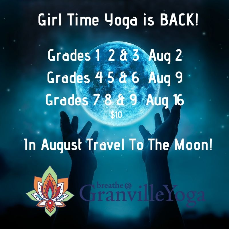 Karen Scott is back with Girl Time Yoga.