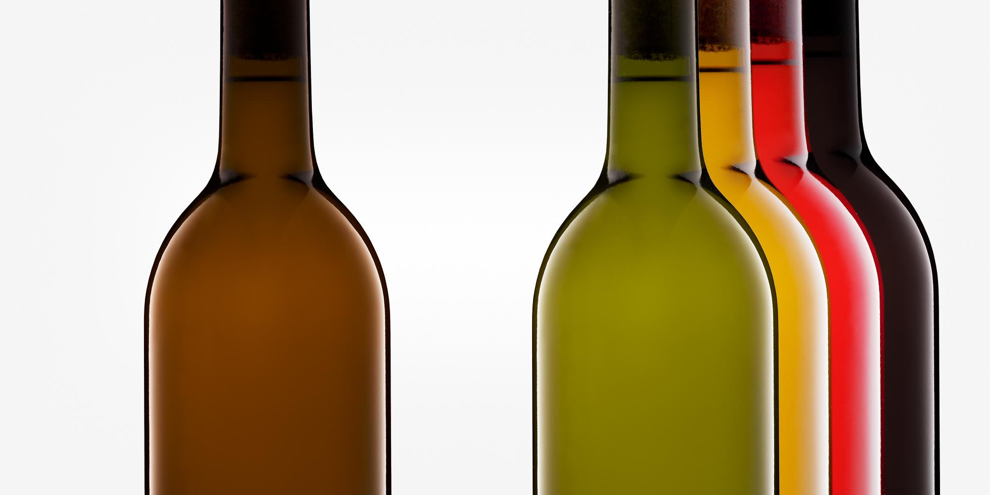 Farbanpassung Flaschenglas