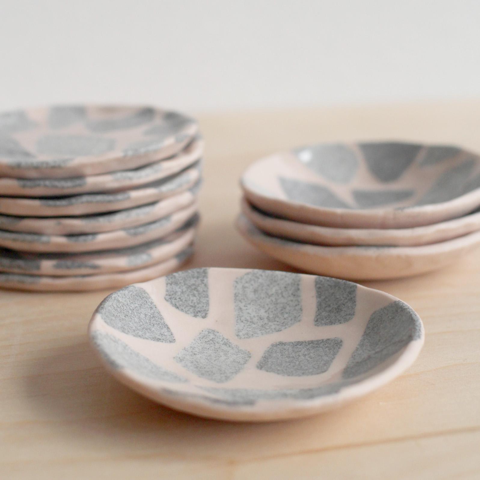 Tiny Terrazzo Dishes - Retail $22