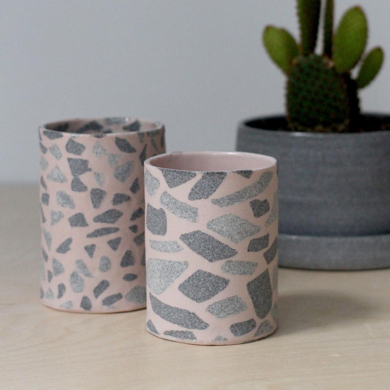 Terrazzo Vase - Retail $65