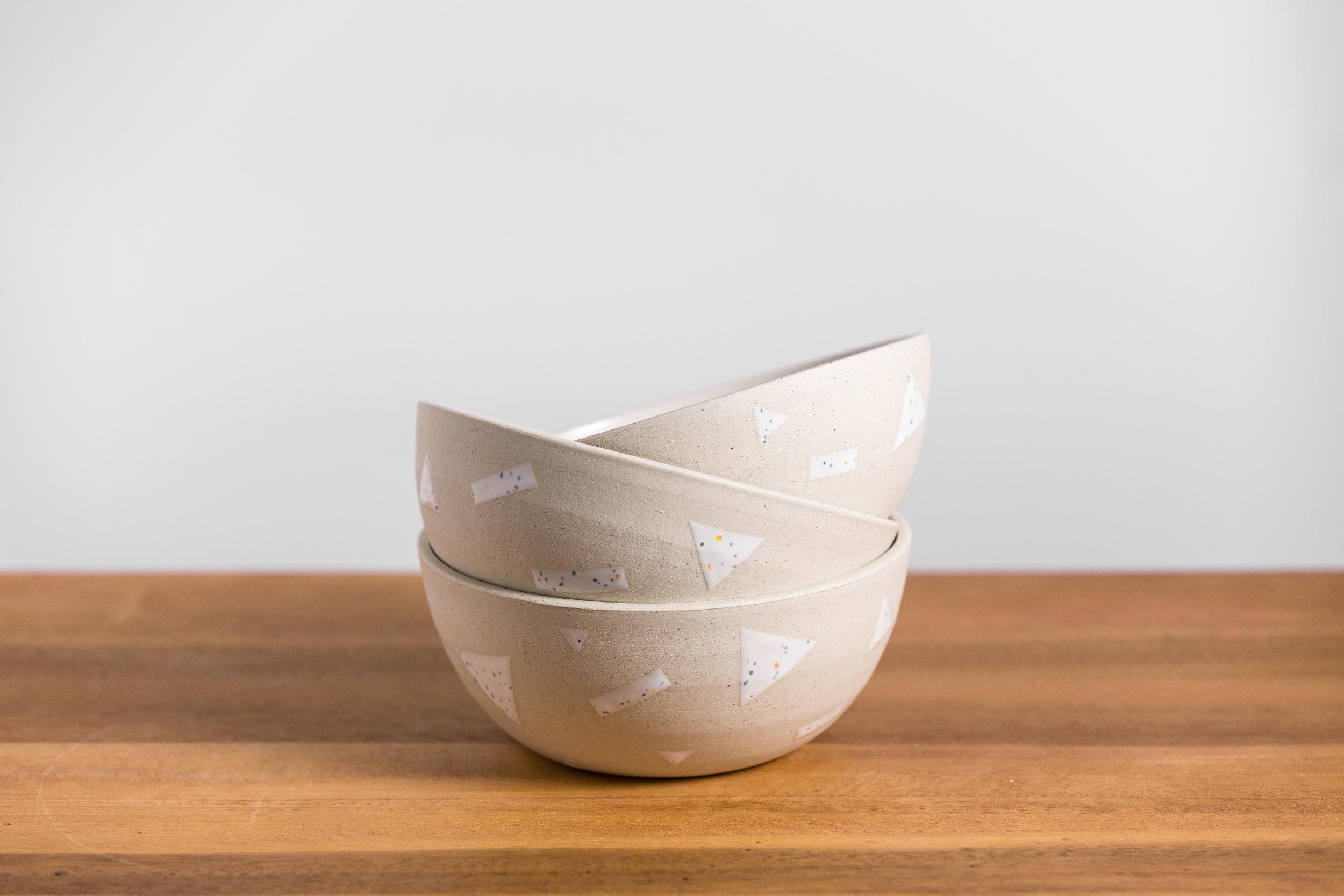Cutout Bowls - Retail $42