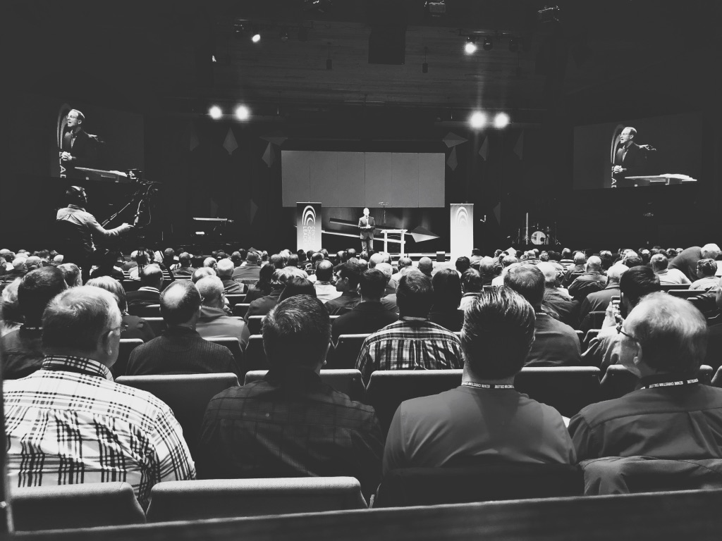 - Barry Cameron  speaking at the Center For Church Leadership Summit-