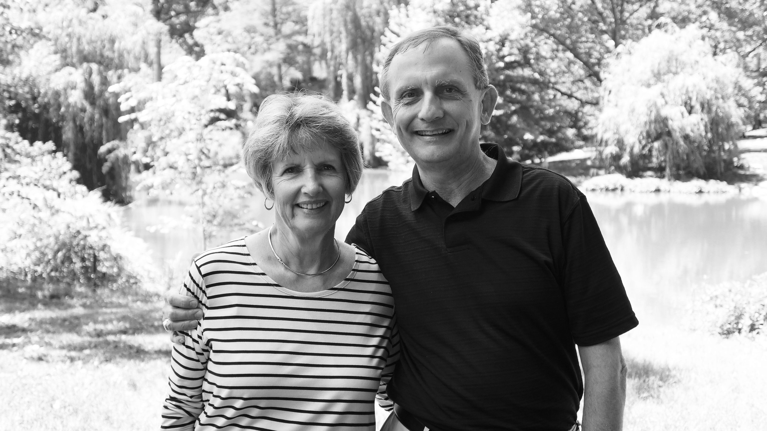 Mark Taylor and his wife Evelyn