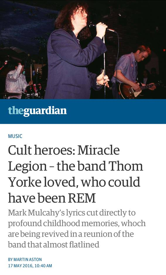 Guardian music (UK) Feature - 17 May, 2016