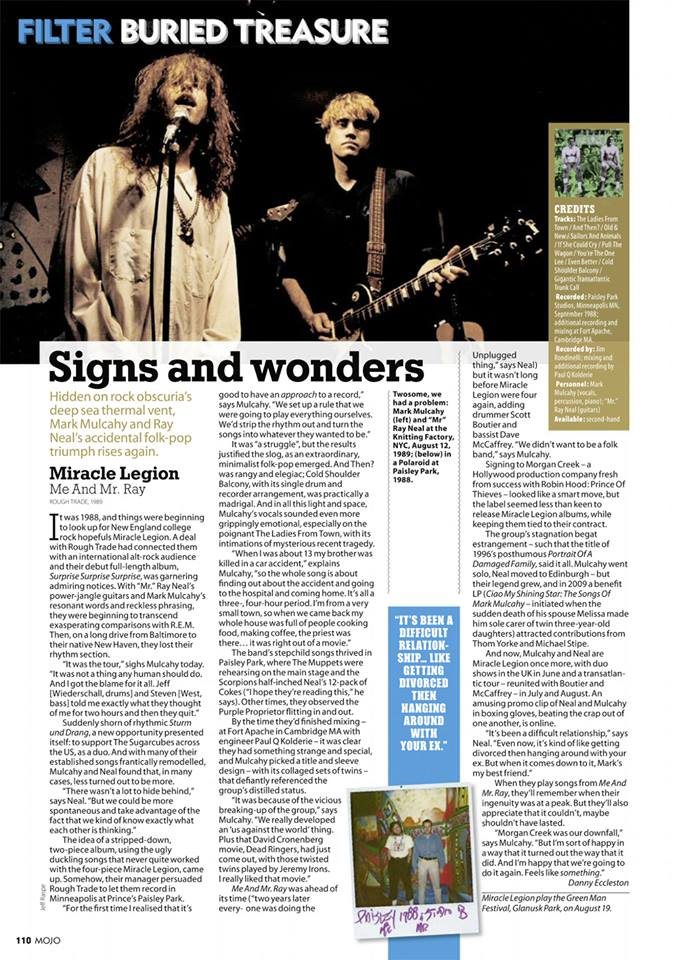 MOJO Magazine (UK) Feature - Issue 273 - August 2016