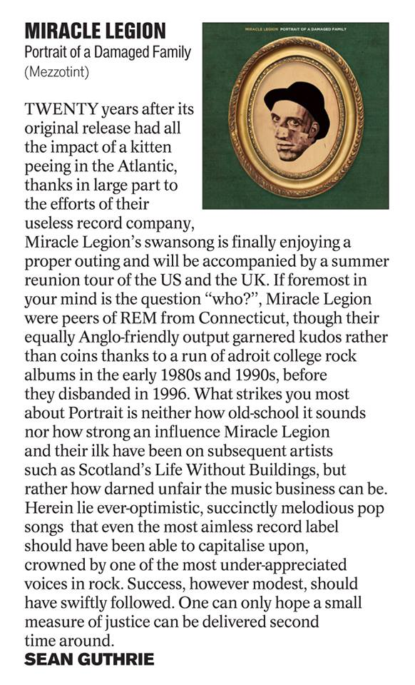 The Herald Scotland (UK) Review - April 29, 2016