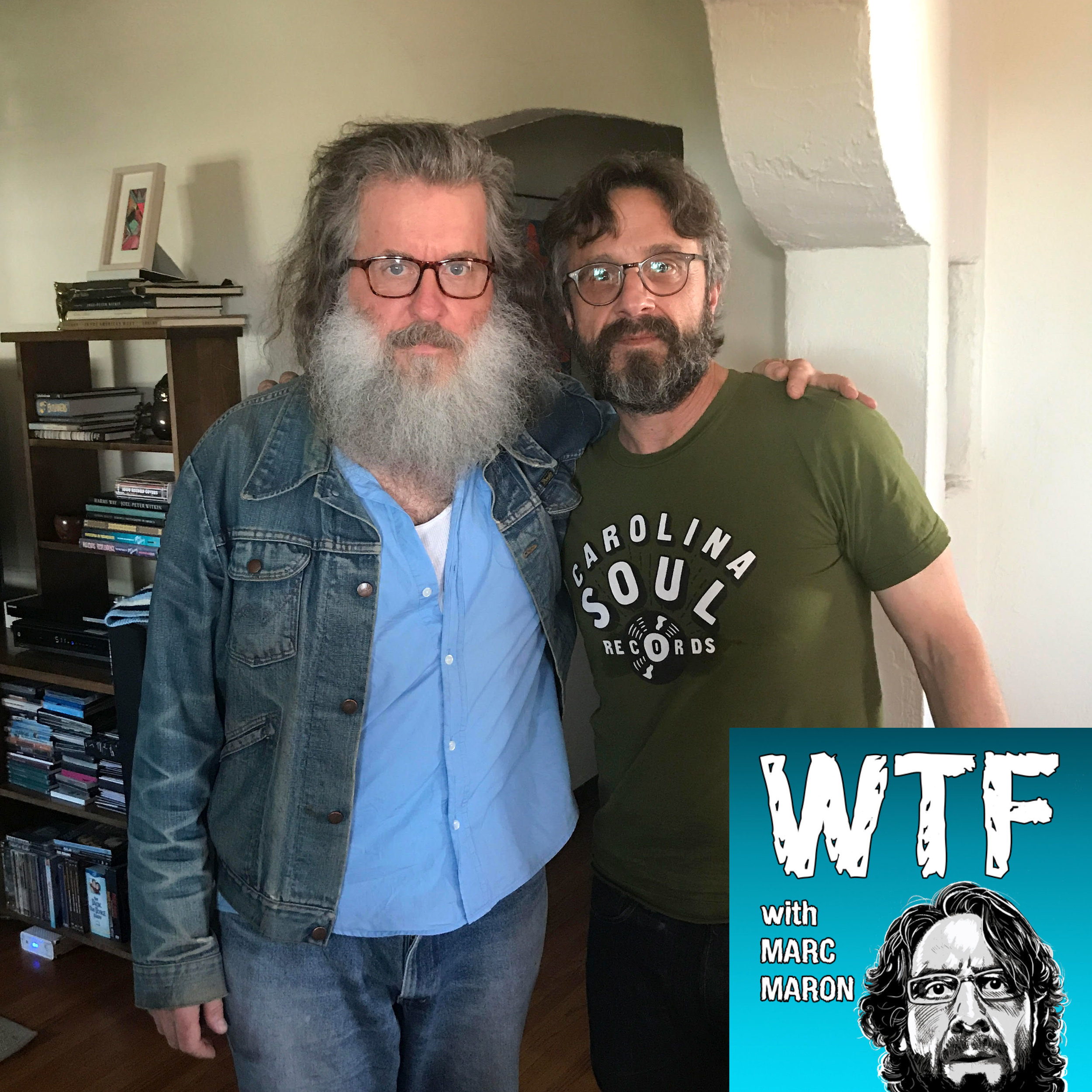 WTF with Marc Maron Podcast - Episode 818, June 2017.    Click here to listen.