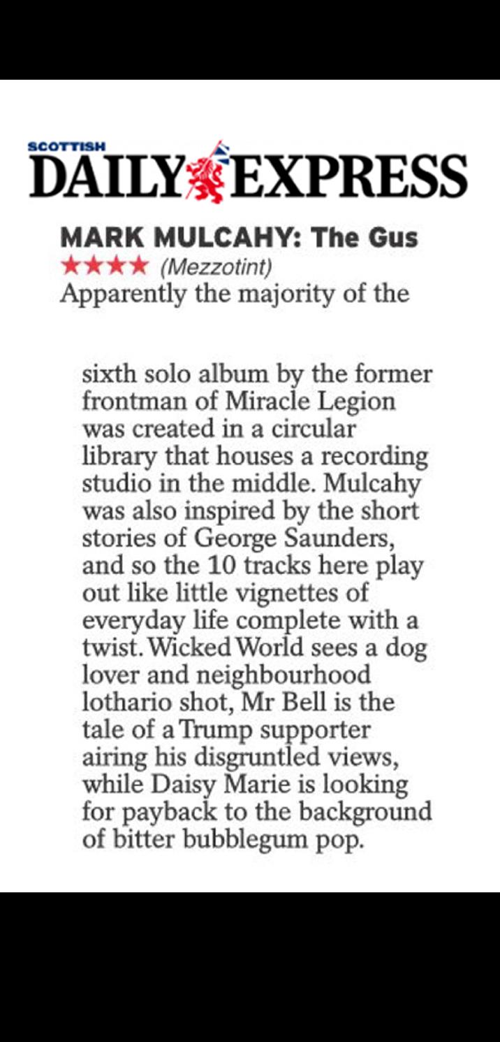 Scottish Daily Express, July 2019