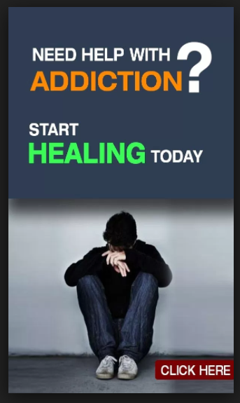 addict looking sad in another advertisement