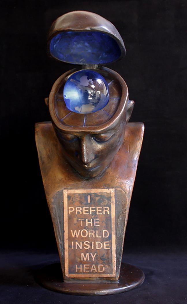 I PREFER THE WORLD INSIDE MY HEAD