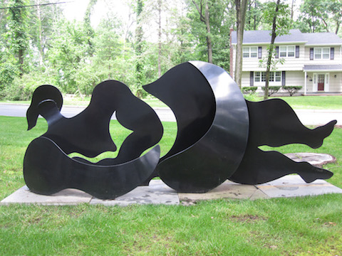 JudithPeck_2 Riverflow Back - Steel - Welded steel 38i n x 93in x 16in.jpeg