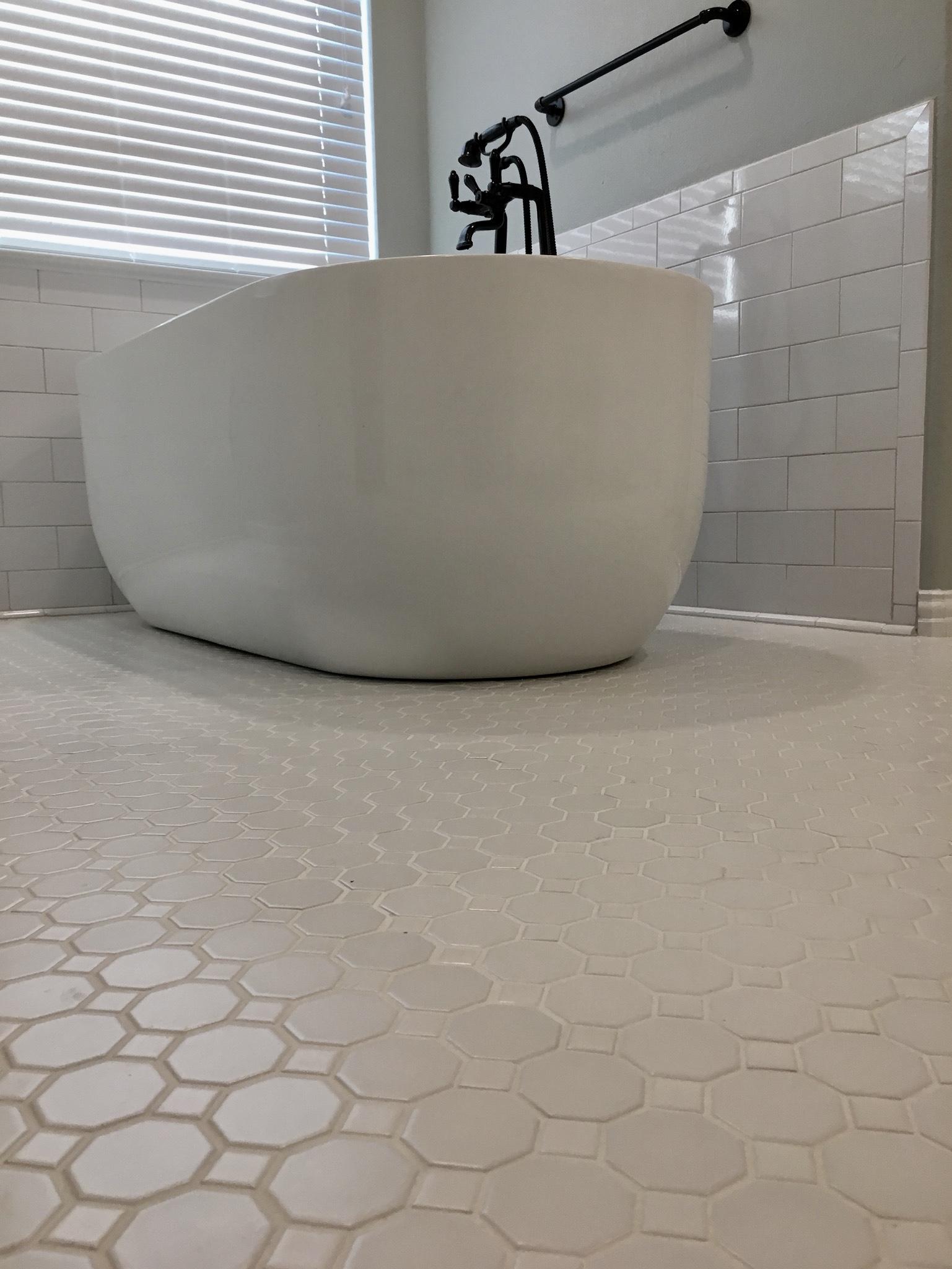 Floor & Tub