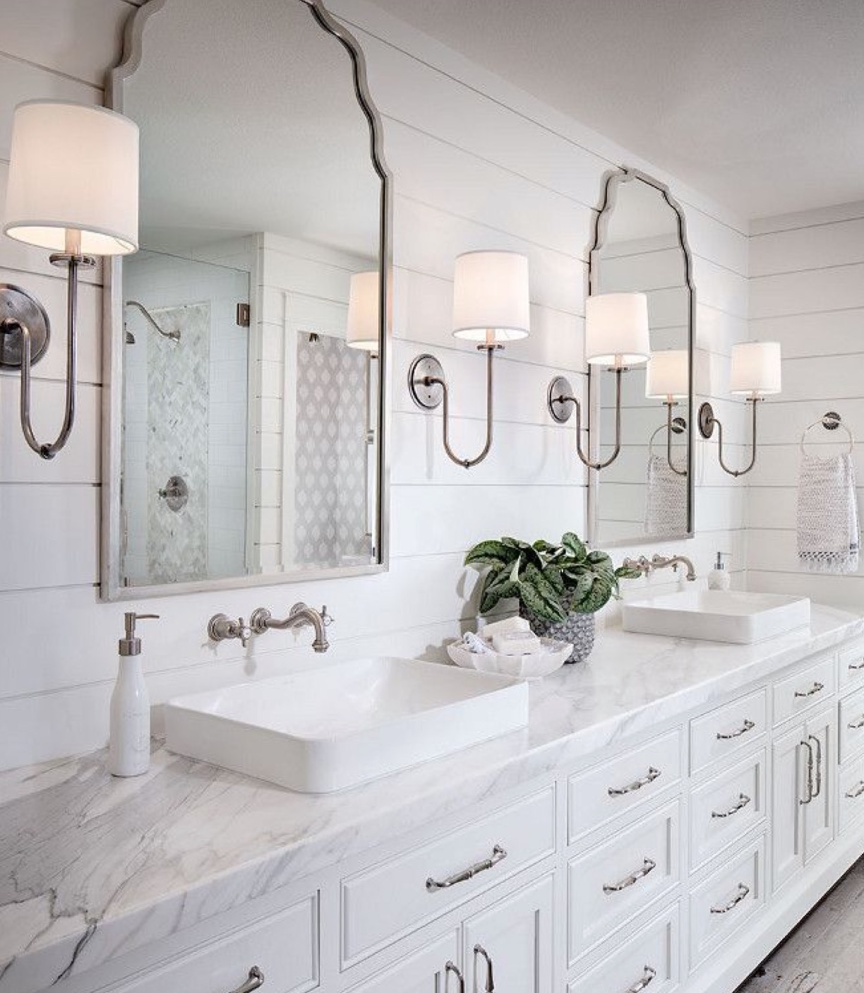 INspiration- We usually start with inspiration our customers have already found via Pinterest or houzz. This photo was provided by the client during our initial consultation.