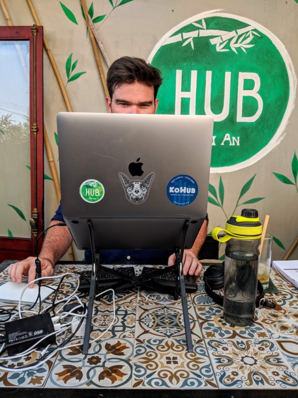 Hub Hoi An is small but well-designed coworking space.