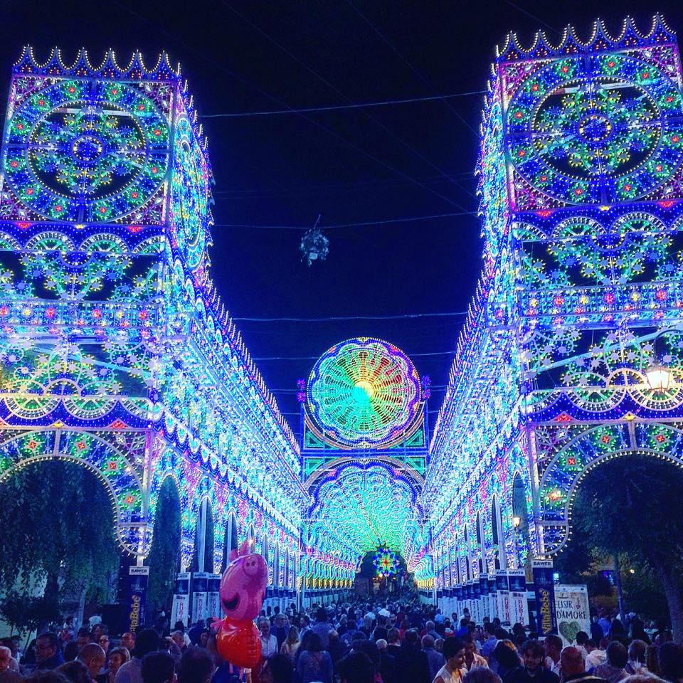 The amazing light displays are only one aspect of this amazing festival.