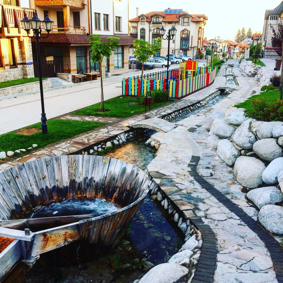 Delchev Street is just one of the many charming places in Bansko, Bulgaria.