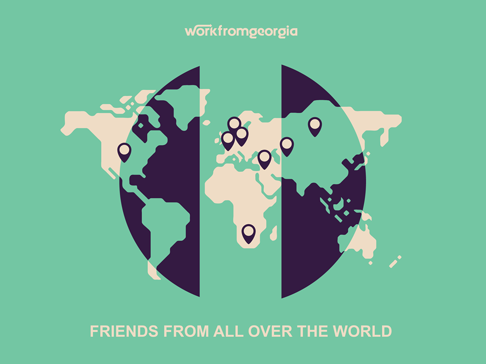 Work From Georgia is a very innovative program designed to bring digital nomads with local folks. Plus, it's free!