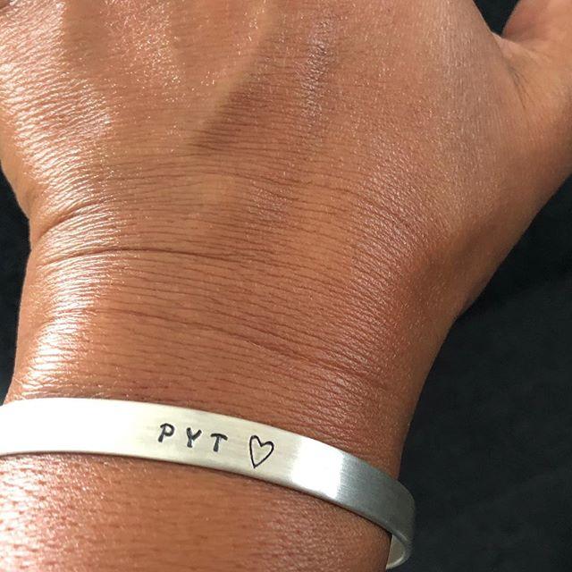 Nina Nygaard har lavet Pyt-armbånd. 💟🕊🤸🏽♂️😘