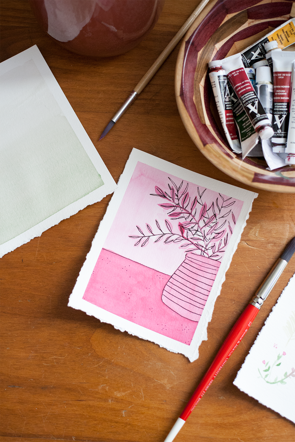 monochromatic-pink-plant-watercolor.png