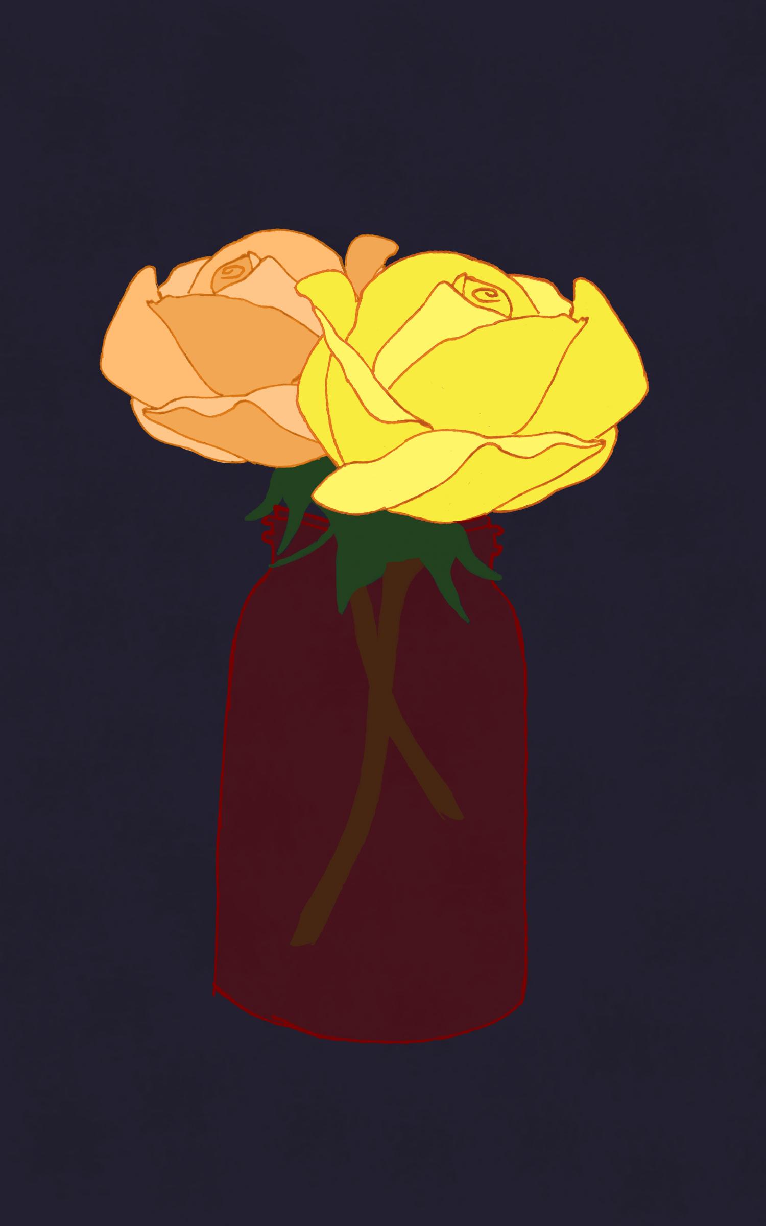 roses and red jar digital.jpg