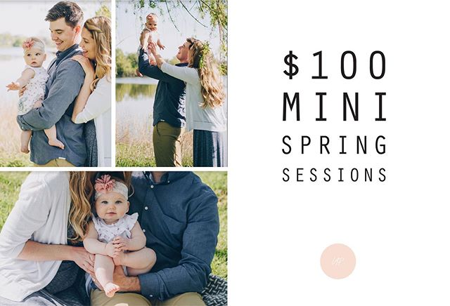 PSA! My $100 mini shoot special is back! I have limited openings, so book your session before it's too late! May 25 // June 1 & 2 // June 8 & 9. #ladyappleseedphotography #familyphotography #napervillefamilyphotographer #chicagofamilyphotographer #newbornphotography #maternityphotography #makeportraits