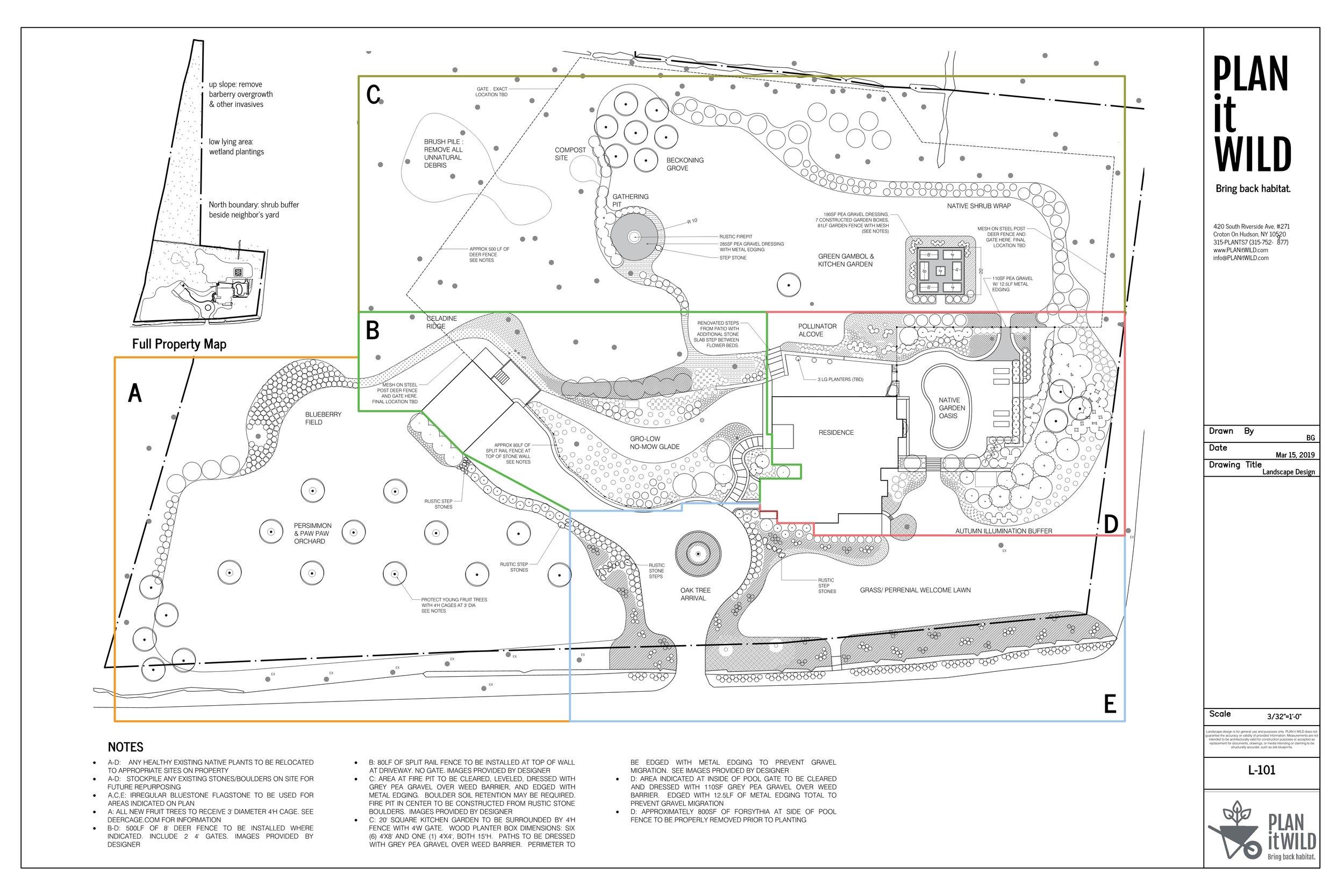 Sample Master Plan Pound Ridge