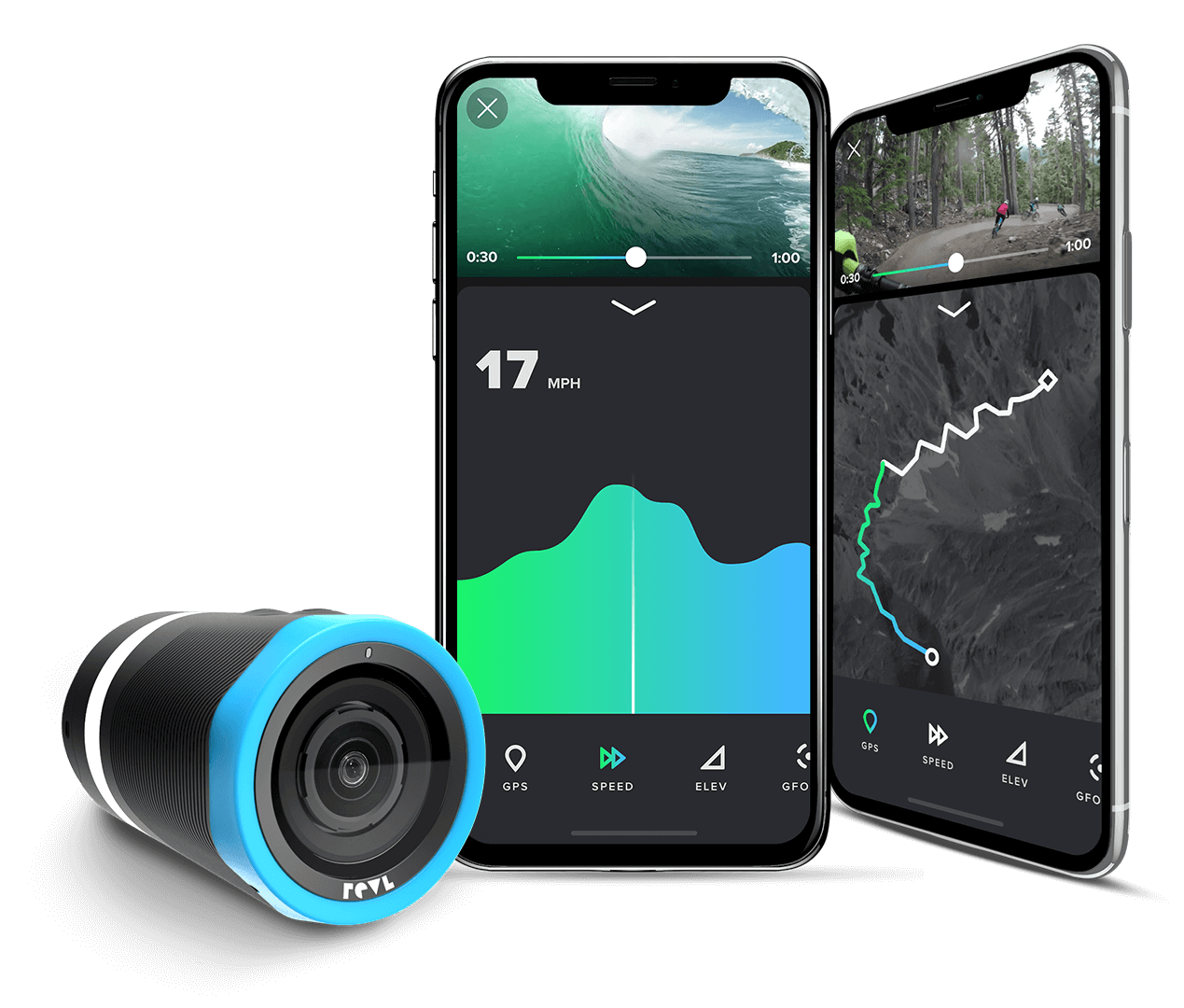 Meet Arc - The stabilized action camera that edits for you.
