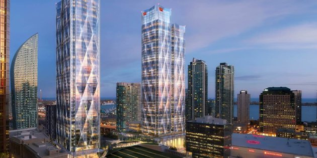 - Click Pic: Microsoft Announces New Canadian Headquarters In Downtown Toronto, Walking Distance From Sugar Wharf.