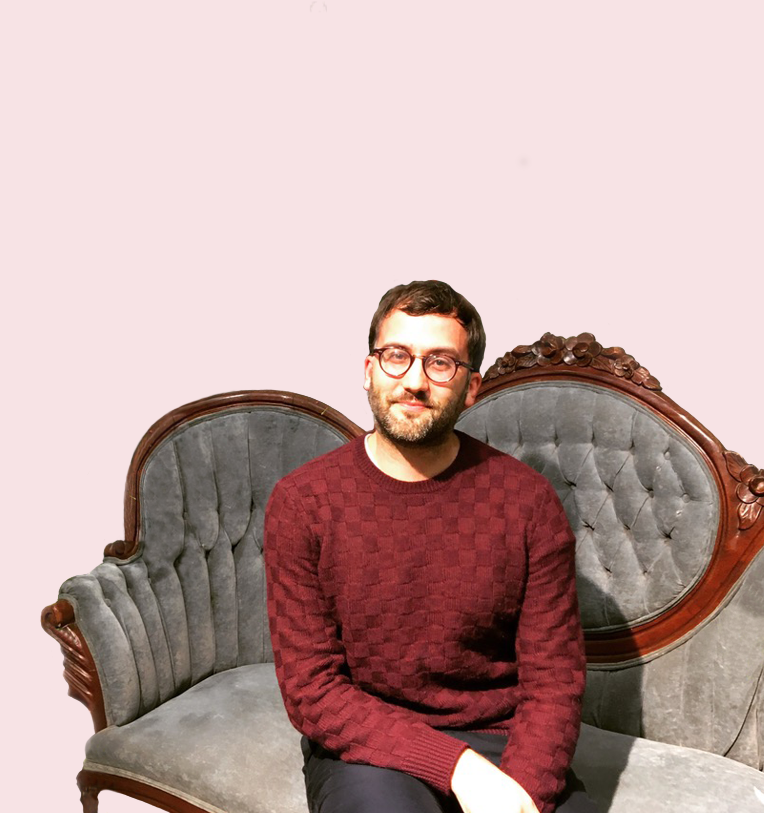Matthew BiehlCOPY EDITOR - Hometown: Vancouver, BCInstagram: @matthewbiehl24Astrological sign: CapricornSunday uniform: A cozy Breton striped sweater and a broken in pair of jeans or chinosDream Vacation: Spending a month exploring JapanFavourite Book: A tie between Bridget Jones's Diary and Call Me By Your Name