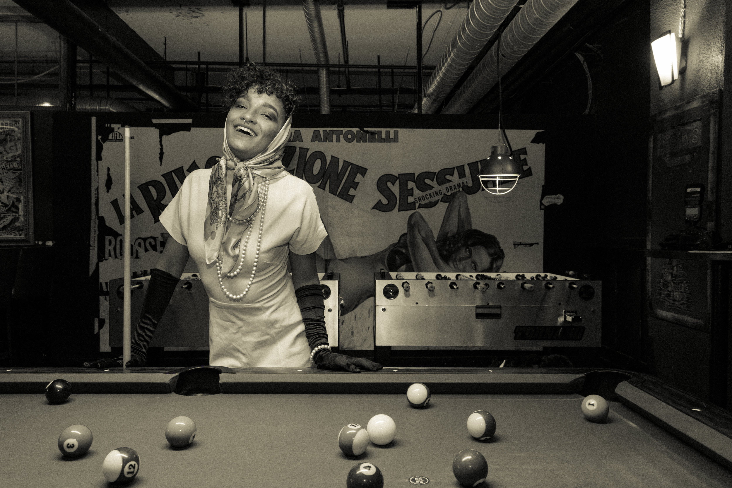 Beatroute Magazine / Pool Hall Love in 1970's