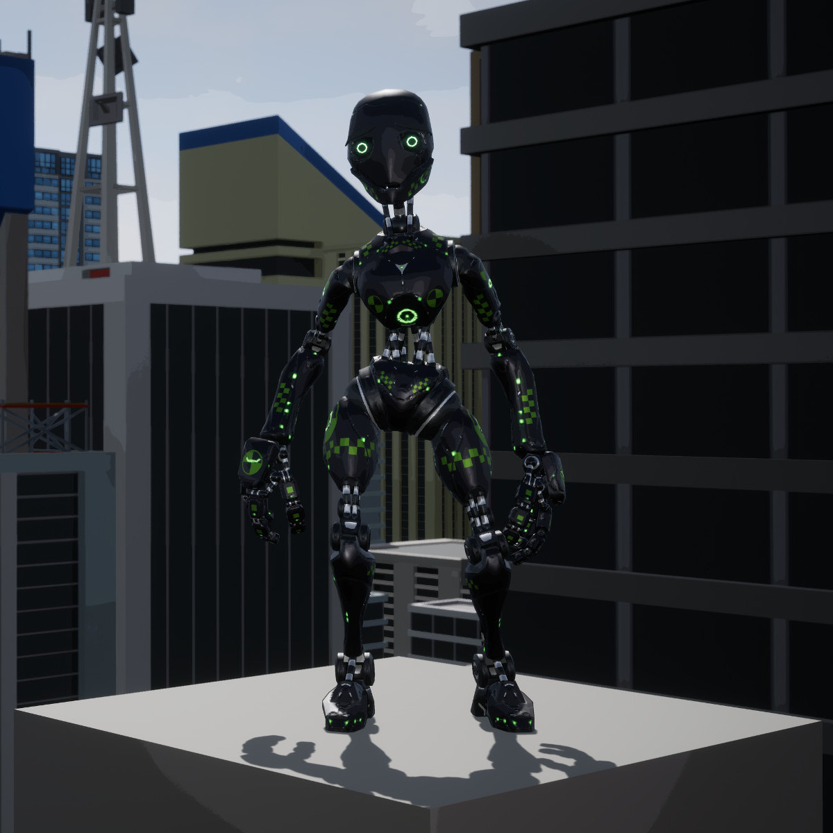 Swing Force Sim Sim Bot Model 2