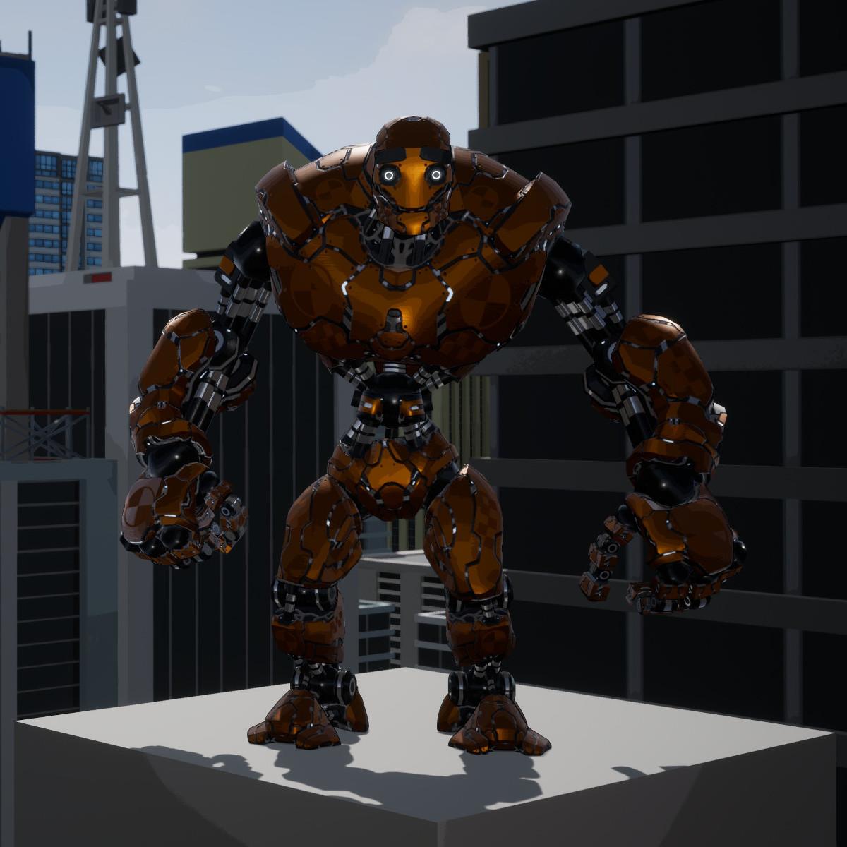 Swing Force Sim Sim Bot Model 3