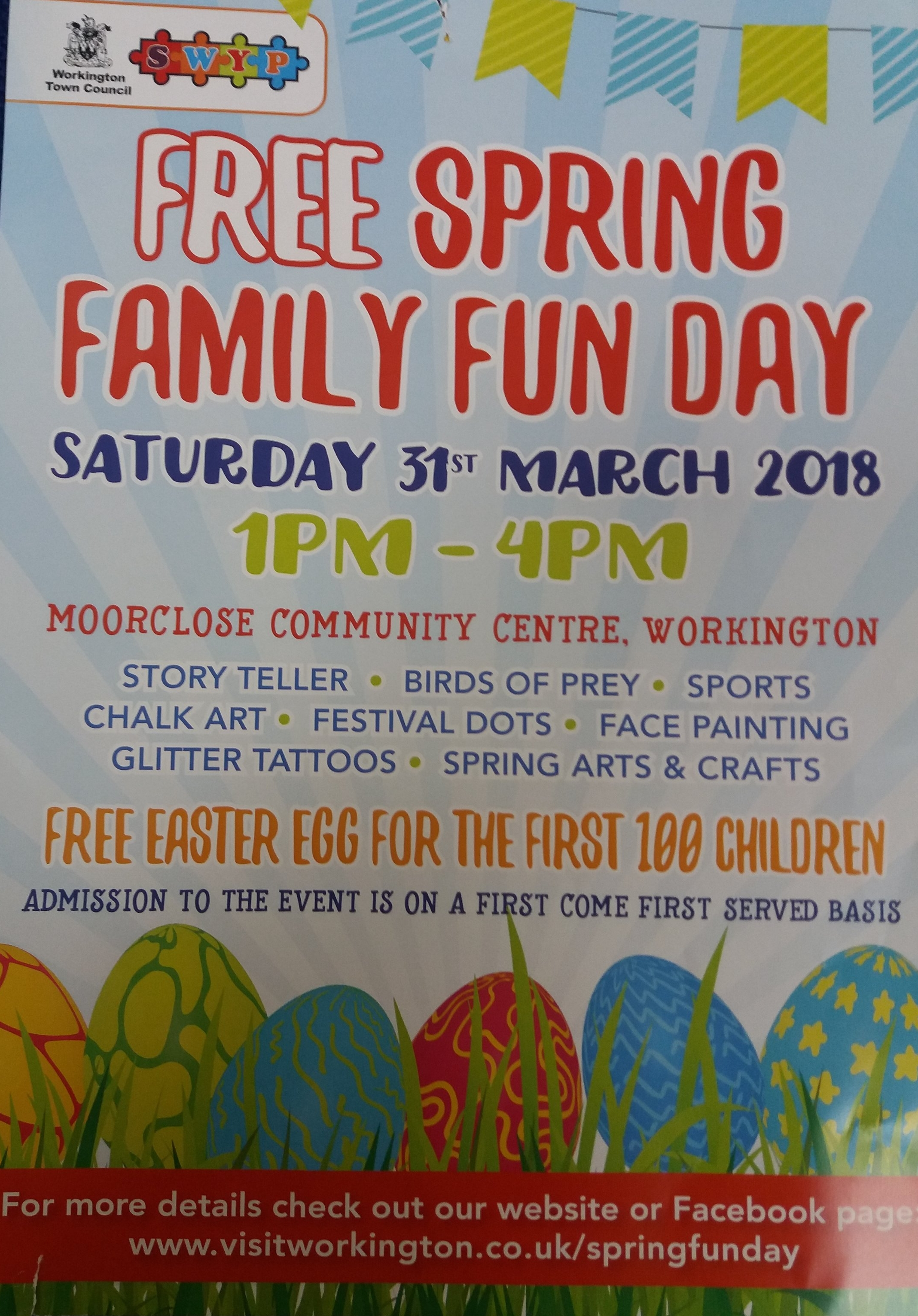Spring Family Fun Day at Moorclose Community Centre