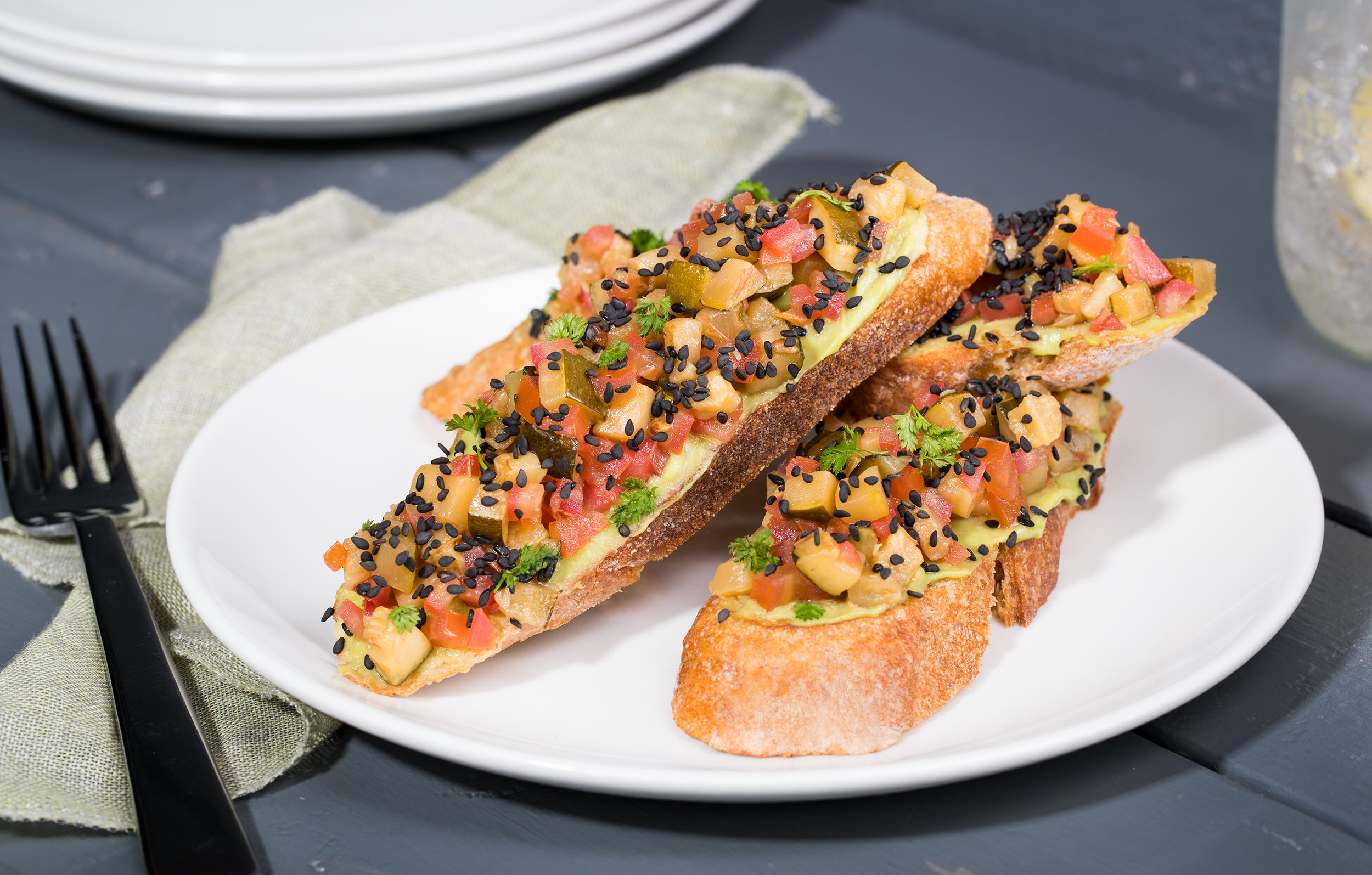Two-Tone Bruschetta