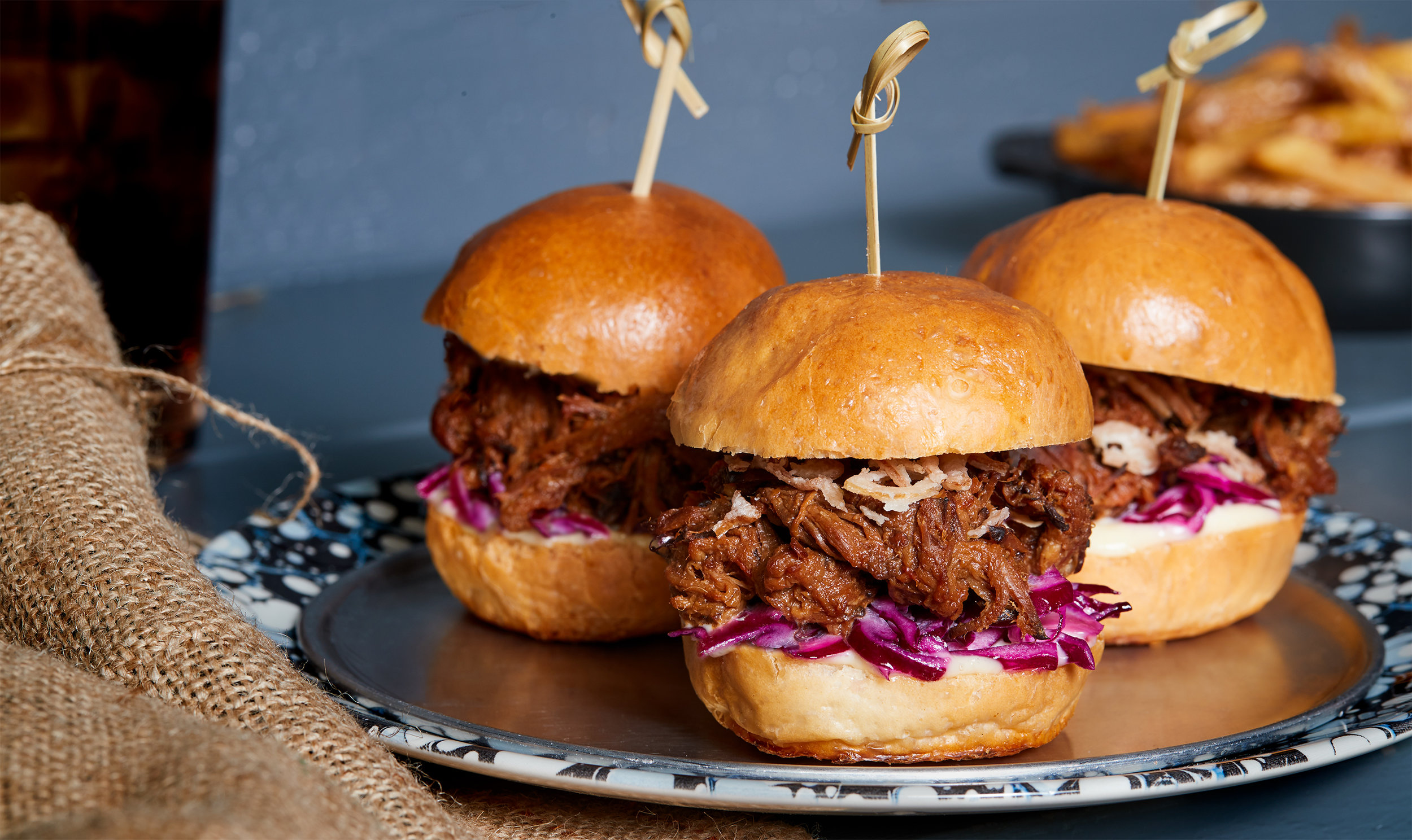 Braised Brisket Sliders