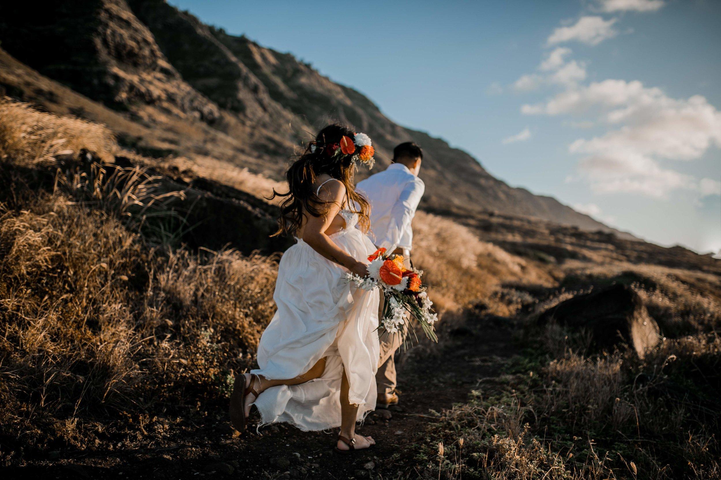 oahu boho wedding