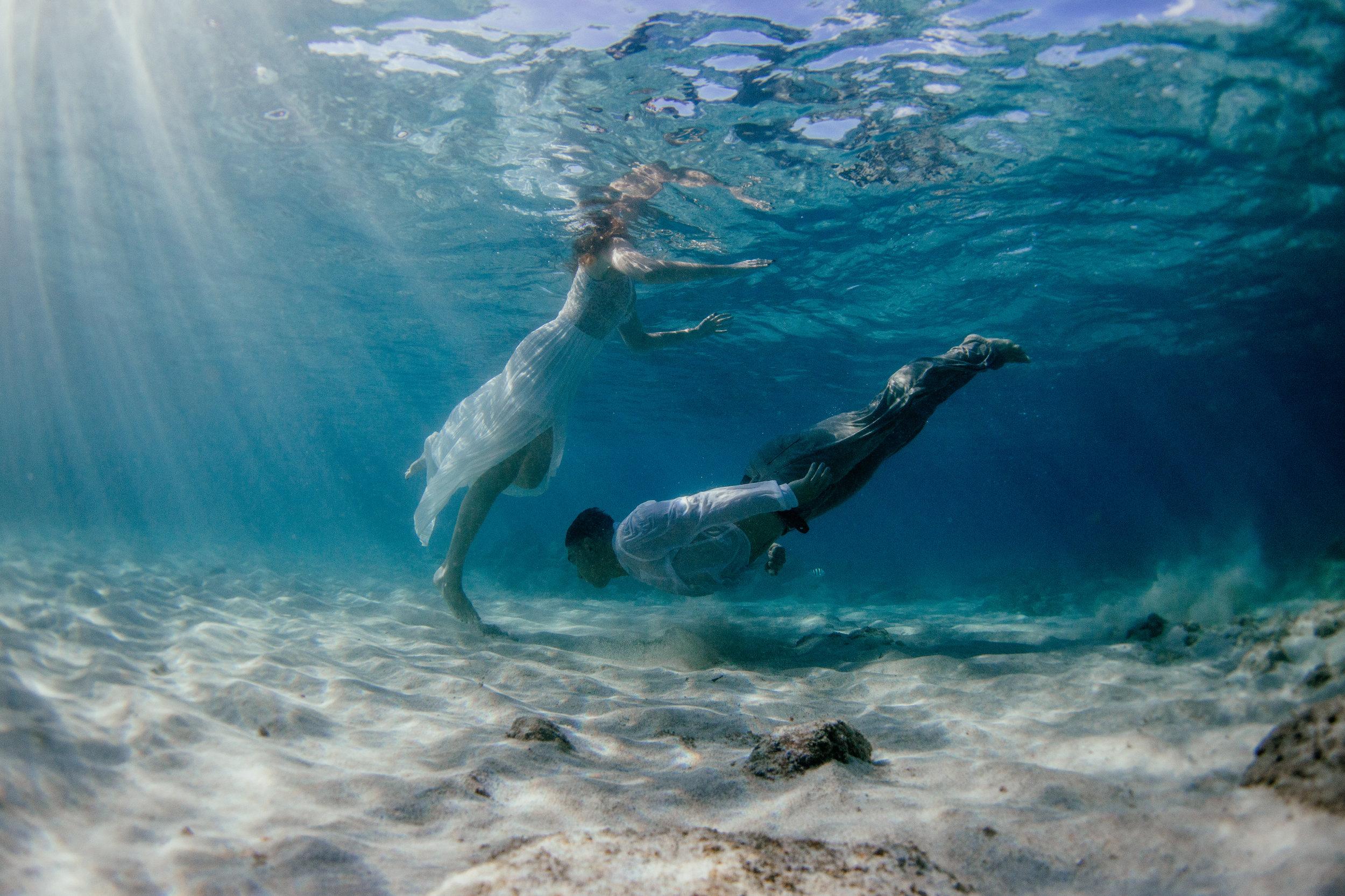 underwater adventure Oahu Hawaii photographer