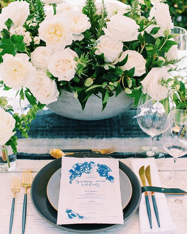 Doing a little Happy dance this AM! #LDPartner @lyndenlane's beautiful bridal shower is featured in @ruemagazine! The story behind the details of this event are so thoughtful, and the design execution was flawless. (Full feature on Rue, link in bio). Tap for vendor credits...