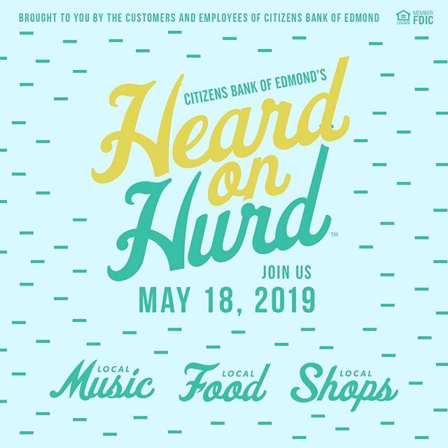 Join us tonight in Edmond @6pm-10pm @heardonhurd