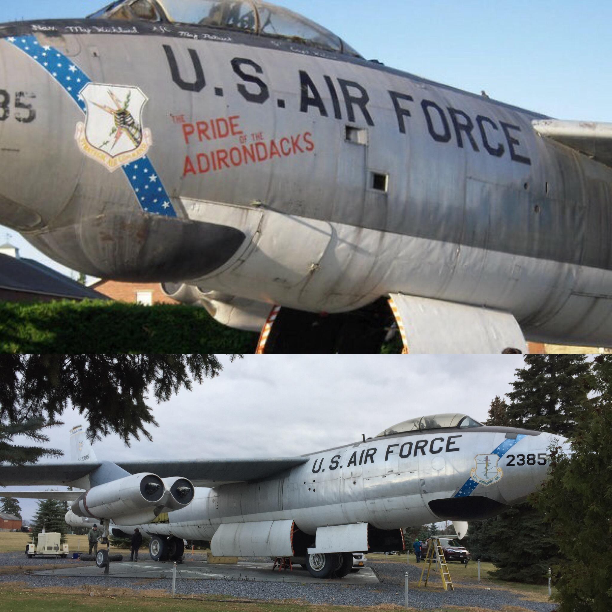 Pride of the Adirondacks B-47 0-32385