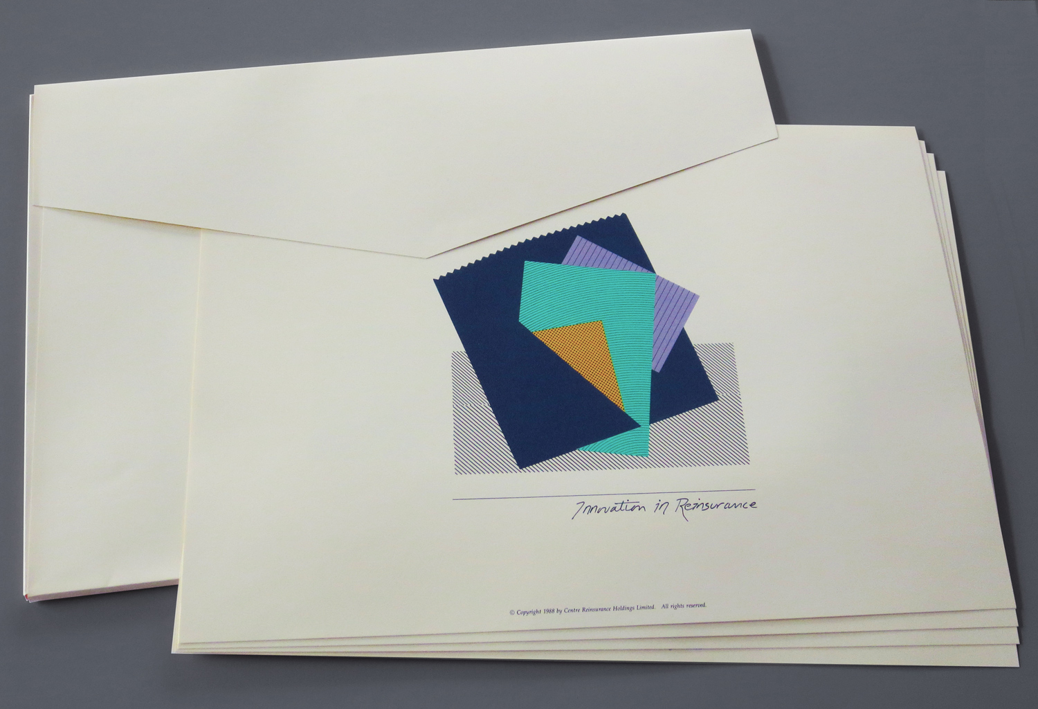 specifications - Portfolio of four fine art prints in a portfolio envelope.• Print Size: 16